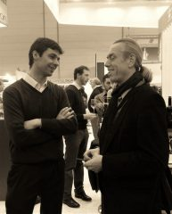 Enrico Dellapiana mit Uwe